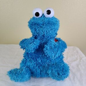 """""""TALKING"""" Cookie Monster - Count and Crunch with Backpack 2010 """"No Cookies"""""""