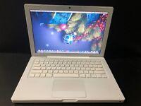 "FAST Apple A1181 MacBook 13.3"" Laptop Core 2 Duo - 2GB RAM 120GB HDD + OFFICE 11"