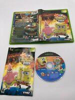 Microsoft Xbox CIB Complete Tested SpongeBob SquarePants Movie Ships Fast