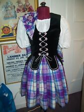 Girls/Ladies New Made to Measure  Aboyne Outfits for Highland Dance  From £250