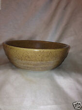 MONMOUTH USA MAPLE LEAF MOJAVE MOP2 COUPE CEREAL BOWL 16 OZ SPECKLED BROWN