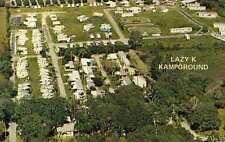 DUNDEE FL Lazy K Kampground Mobile Home Park postcard