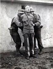 WW2  Photo WWII US Military Police Firing Squad German  World War Two / 1583