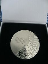 Olympic 2014 Sochi participant official medal in box