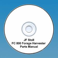 Cd massey ferguson tractor manuals publications ebay jf stoll fc 800 forage harvester parts manual fandeluxe Gallery