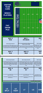 BJF - Statis-Pro Football NFL game parts via .pdf including NEW FAC - PDF ONLY