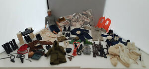 Vintage 1970 G.I. Joe Doll and Accessories