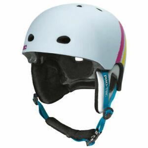 SMALL - PROTEC Assault Snowboard Helmet  Finger Paint Graphic / Ski Snowboarding