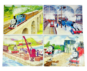Thomas The Tank Engine & Friends 1986 Puzzles Complete Set of 4 RARE