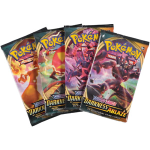 Pokemon TCG Sword & Shield Darkness Ablaze Foil Booster Pack