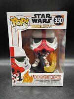 Funko Pop! Incinerator Stormtrooper #350 The Mandalorian Flame Trooper Figure