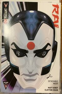 RAI #2 (Recalled Edition Detachable Mask Cover) NM Valiant Comics 2014 Error