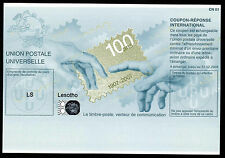 Lesoto International Reply cupon (IRC), Mint/100 years UPU (cn01)
