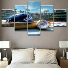 Baseball Sports Canvas Prints Poster Painting Wall Art Home No Frame 5 Pieces