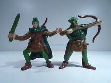 Advanced Dungeons & Dragons LJN Elves of Woodland Solid Action Figures Complete