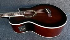 Ibanez AEB10E-DVS Acoustic-Electric Bass Guitar BROWN SUNBURST Fishman Pickup
