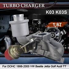 K03 Turbo Charger for 1.8L 1.8T DOHC 98-05Volkswagen Beetle Jetta Golf Audi TT *