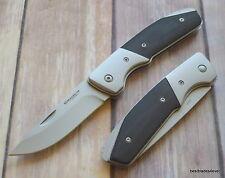 7.5 INCH OVERALL BOKER MAGNUM CHARLIE FOXTROTT LOCKBACK FOLDING KNIFE