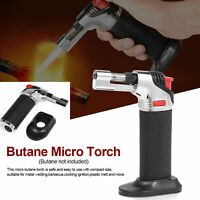 Refillable Butane Micro Jet Torch Portable Windproof Lighter Soldering Welding
