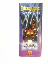 A Disneyland 1992 Theme Park Opening Night of Fantasmic Souvenir Guide - Program