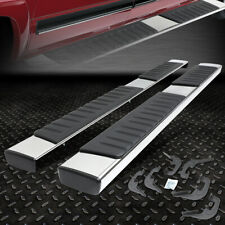 "FOR 2007-2018 SILVERADO/SIERRA PICKUP EXT CAB 6"" CHROME RUNNING BOARD STEP BAR"