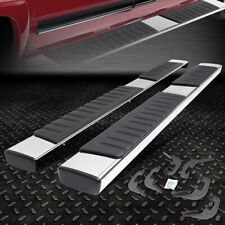 "FOR 2007-2019 SILVERADO/SIERRA PICKUP EXT CAB 6"" CHROME RUNNING BOARD STEP BAR"