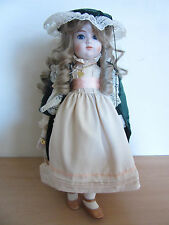 1981 Gorham Doll Collection Porcelain Alexandria Let Me Call You Sweetheart 18""