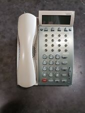 ** Lot of 4 ** NEC DTU-16D-2 White Phones ** Refurbished with 1 Year Warranty **