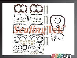 Fit 96-99 Subaru EJ25D DOHC Engine Full Gasket Set w/ Bolts kit 2.5L motor seals