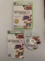 Xbox Live Arcade Unplugged Vol. 1 (Microsoft Xbox 360, 2006) Complete