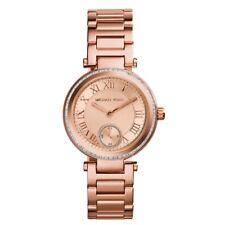 Michael Kors MK5971 New Women's Mini Skylar Rose Gold-Tone Stainless Steel Watch