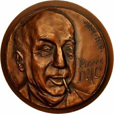 [#550657] France, Medal, Pierre Dac (1893-1975), 1980, hirolla, MS(63), Copper