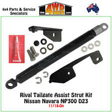 Drivetech 4x4 Rival Tailgate Gas Strut Assist Kit fit Nissan Navara NP300 18-on