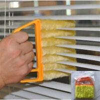 Microfibre Venetian Blind Brush Window Air Conditioner Duster Dirt Clean Brush