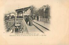 Exposition 1900, Plate-Forme Mobile, la Station du Pont des Invalides, Paris