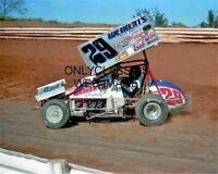 DOUG WOLFGANG WORLD OF OUTLAWS 8X10 PHOTO WEIKERTS WINGED SPRINT CAR AUTO RACING