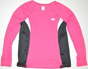 The North Face • Womens Flight Series Vapor Wick Shirt 1/4 Zip Pink L/S • Size L