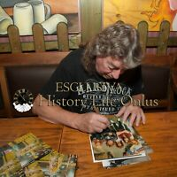 Dennis Stratton Iron Maiden Photo Autograph Autographed Hand Signed ITP
