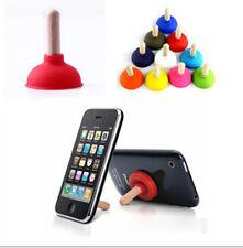 5Pcs New Sucker Stand For Cell Phone i Phone i Pod PSP Mini Plunger Holder GRAU