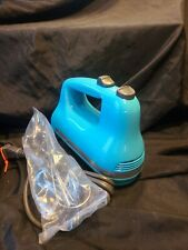 New listing Quality! 5-Speed KitchenAid Hand Mixer Ice Blue New Open Box! Khm517Qcl