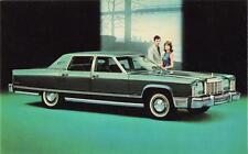 Print.  1976 Lincoln Continental Town Car Auto Ad