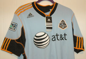 Vintage Adidas MLS Soccer 2010 AT&T All Star Game Formotion Jersey XL NWT