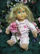 vintage HASBRO 1986 original cloth  blonde KID SISTER Doll;  My Buddy; Playskool