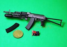AK74 1:6 Scale Action Figure RUSSIAN AK-74-M GUN RIFLE GP-30 GRENADE LAUNCHER