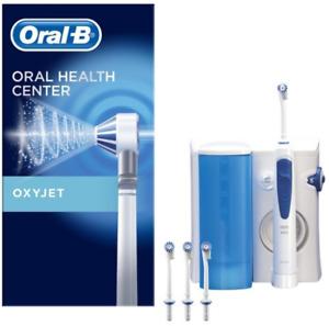 Oral-B OxyJet Munddusche Flosser Zahnpflege /-reinigung Mundhygiene 4 Düsenköpfe