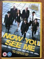 Ora Voi Vedere Me DVD 2013 Illusionista Hustler Mago Poliziesco Thriller Film