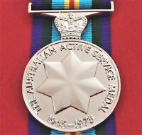 POST WW2 ARMY NAVY AIR FORCE AUSTRALIAN ACTIVE SERVICE MEDAL 1945-75 REPLICA