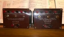 Pair of Vintage Wharfedale 2 way / 3 way Crossovers / Dividing Networks