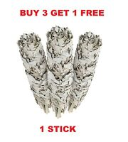White Sage Cali Smudge Stick ( 1 Sage Bundle , House Cleansing ) Made in USA