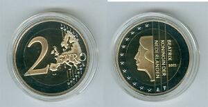 Pays-Bas 2 Euro Pp / Proof (Choisissez sous : 1999-2019)